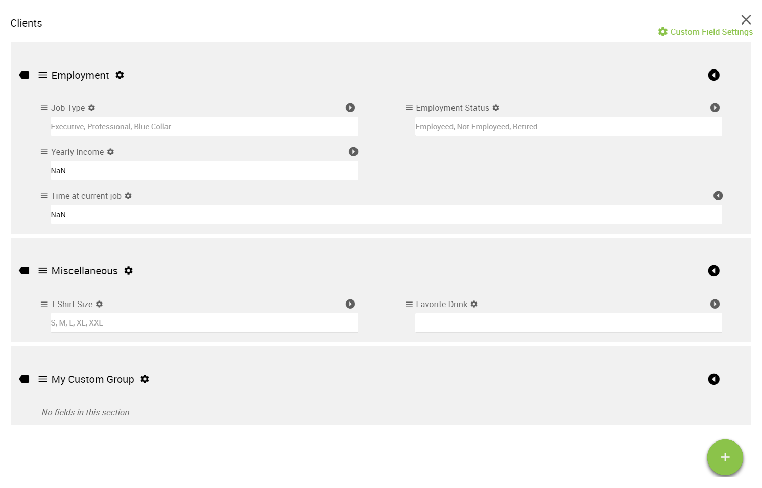 FinFolio custom fields now with auto-calculations