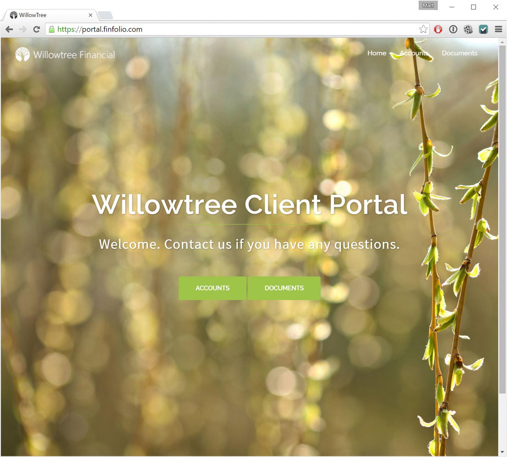 Client Portal V2